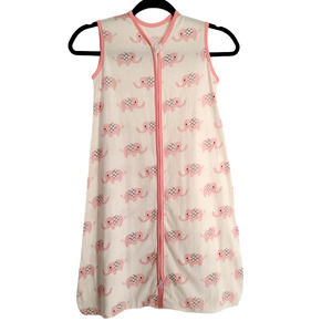 NWOT TILLYOU Baby Coverup Pink Elephant 1434